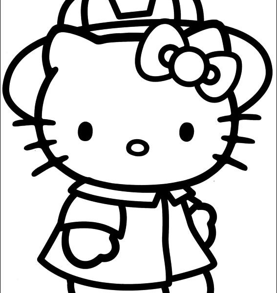 567x600 coloring book pictures hello kitty coloring pages on coloring book