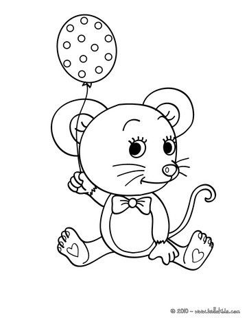 363x470 Print Out And Color This Mouse Coloring Page. Nice Pets Drawing