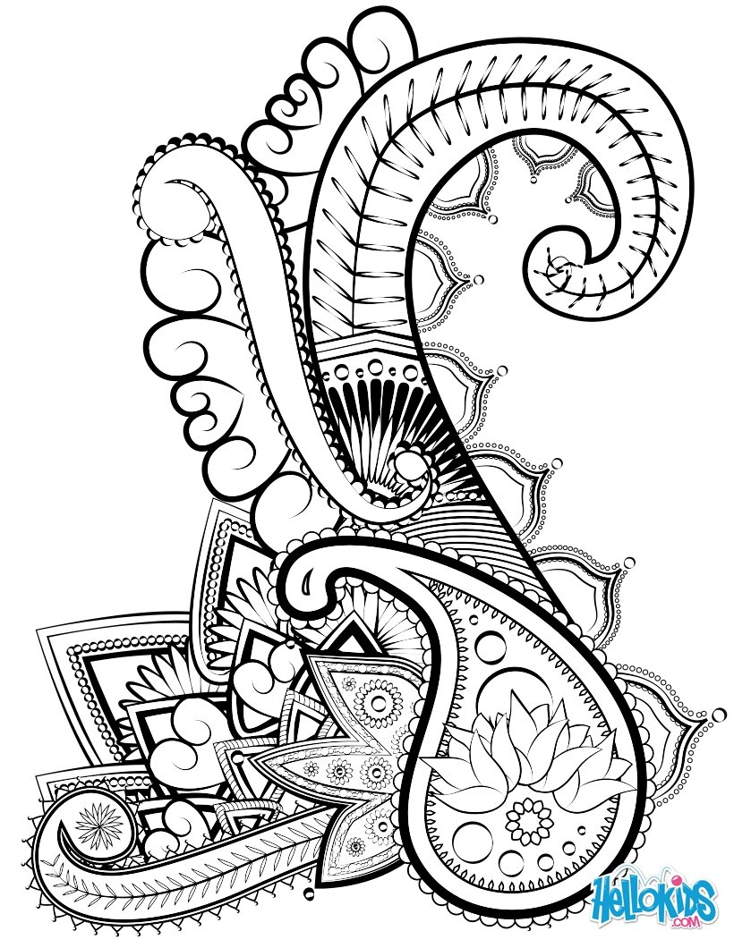 820x1060 Sophisticated Adult Picture Coloring Pages