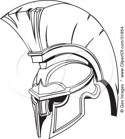404x450 Image Result For Spartan Helmet Drawing Spartan Tattoo