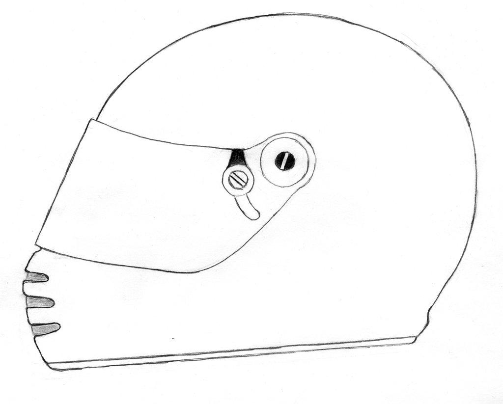 1024x823 Racing Helmet Draft By Sennafan12
