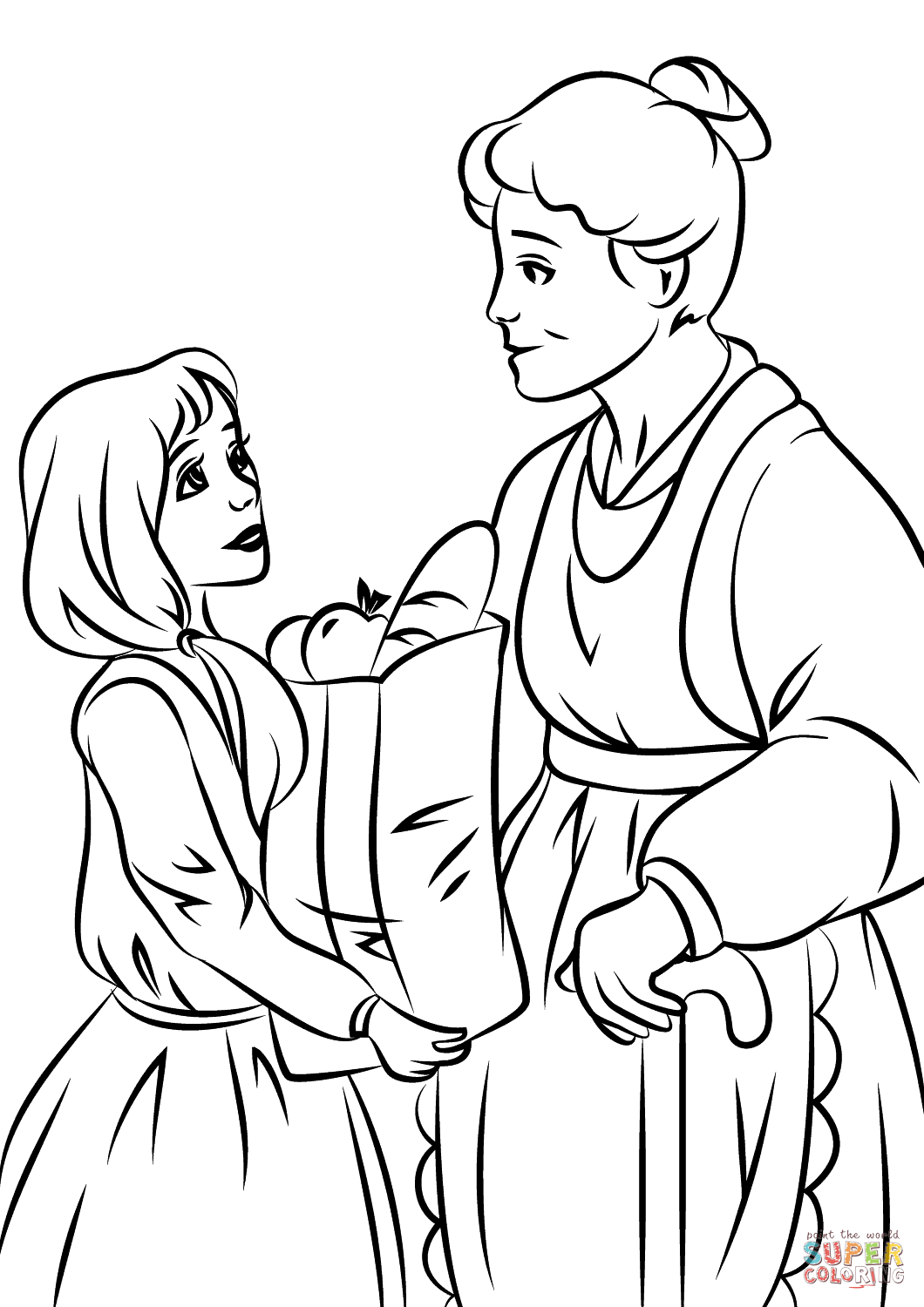1060x1500 Helping Others Coloring Page Free Printable Coloring Pages