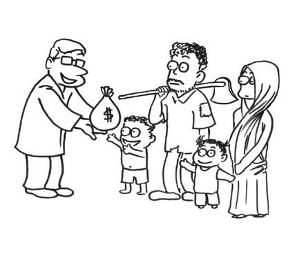 430x371 Why Helping The Poor Raises Some Eyebrows Shanghai Daily