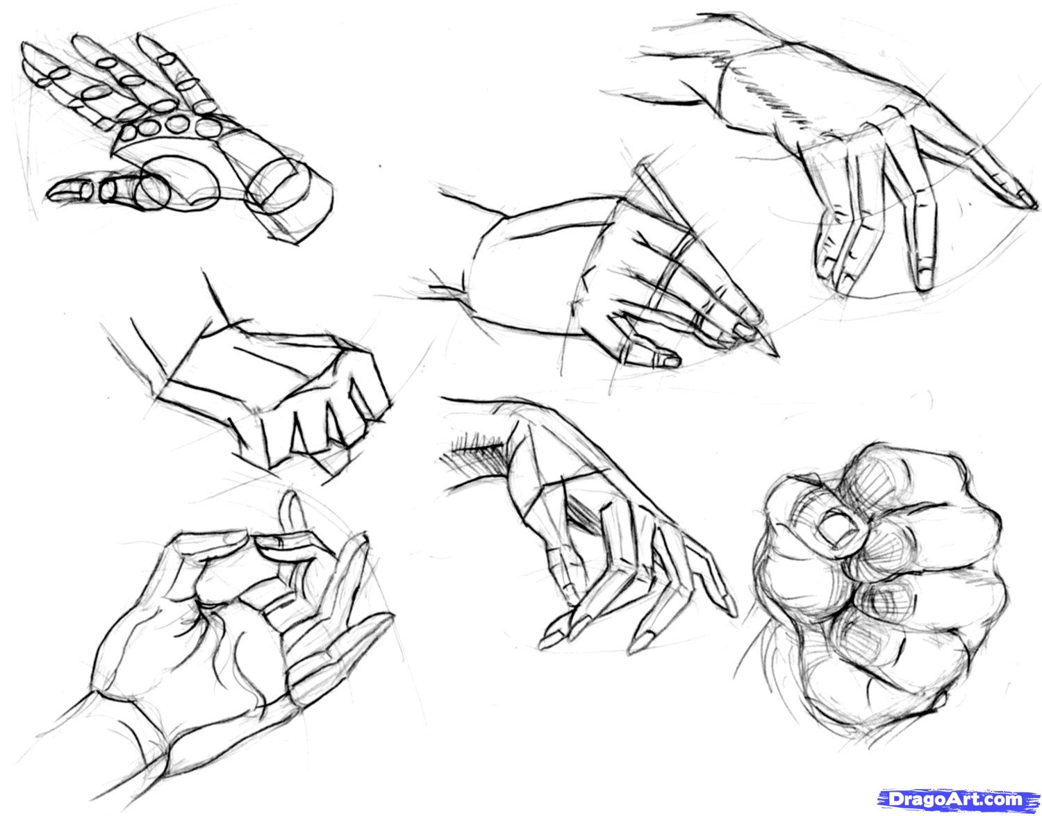 1500x1175 How To Draw Hands Step 19 Art Figure Drawing, Pose