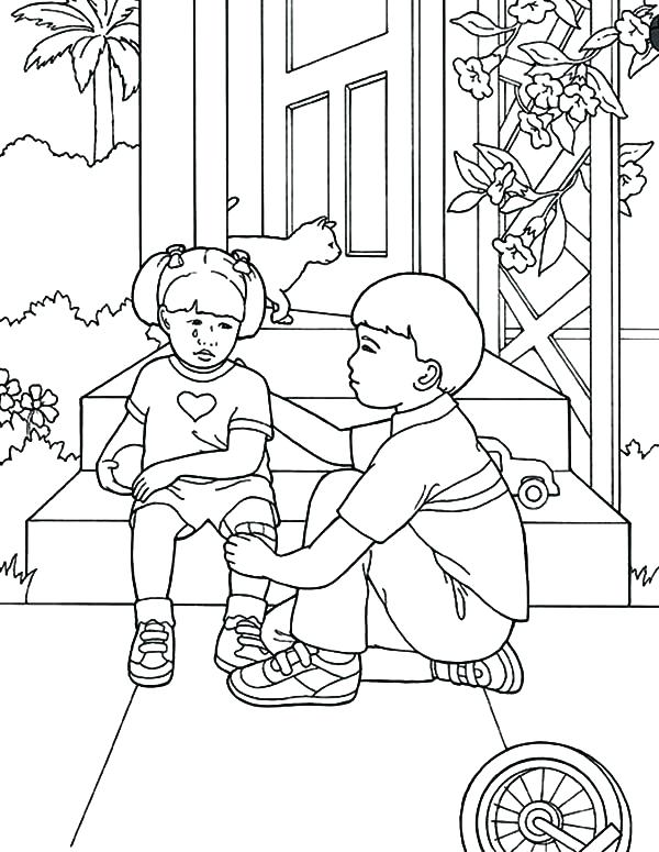 Helping Others Drawing at GetDrawings | Free download