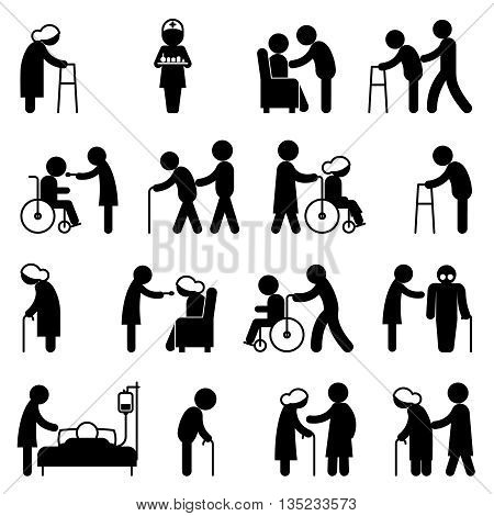 450x470 Disability People Nursing Disabled Vector Amp Photo Bigstock