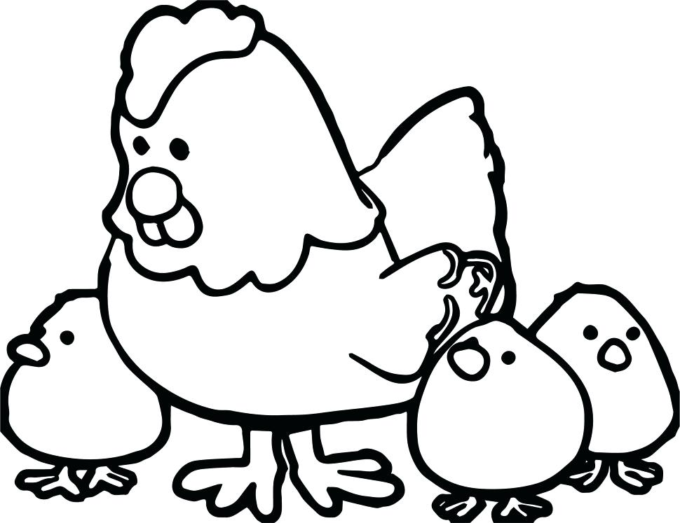 970x747 Hen Coloring Pages Girl Scout Coloring Pages Printable How To Draw
