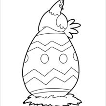 220x220 Hen Coloring Pages, Free Online Games, Drawing For Kids, Reading