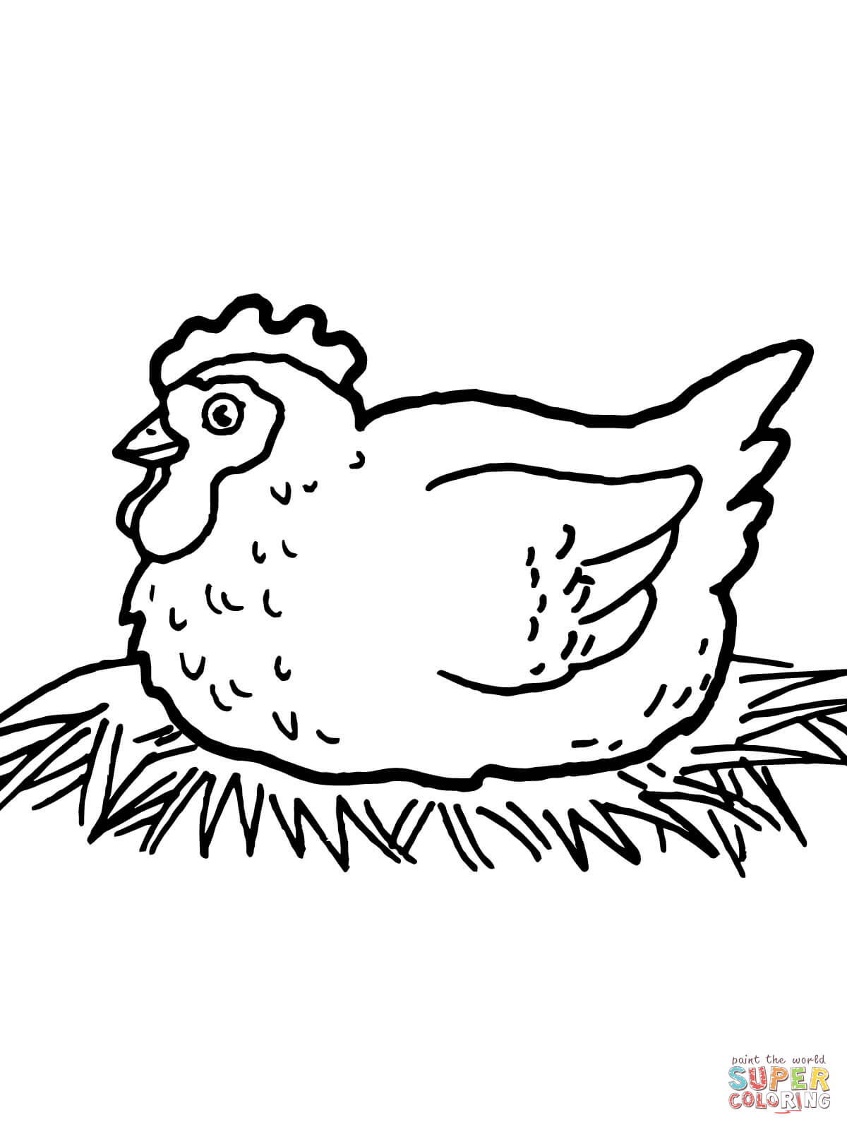 1200x1600 Chicken Coloring Pages Free Coloring Pages