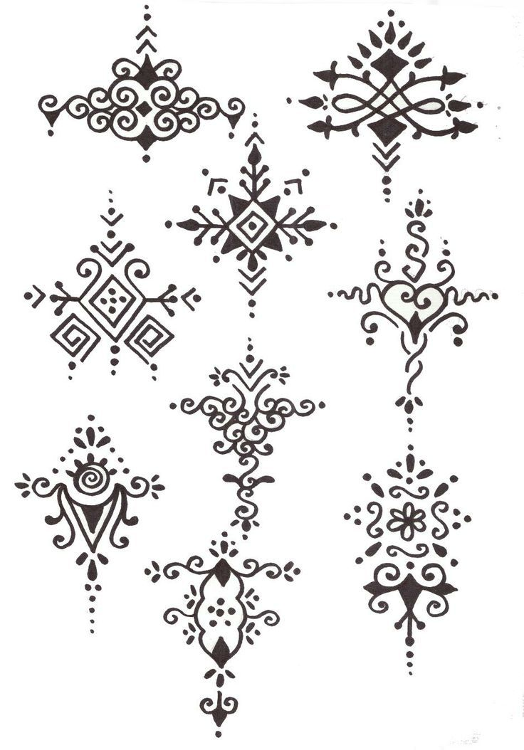 Henna Design Drawing At Getdrawings Com Free For Personal Use