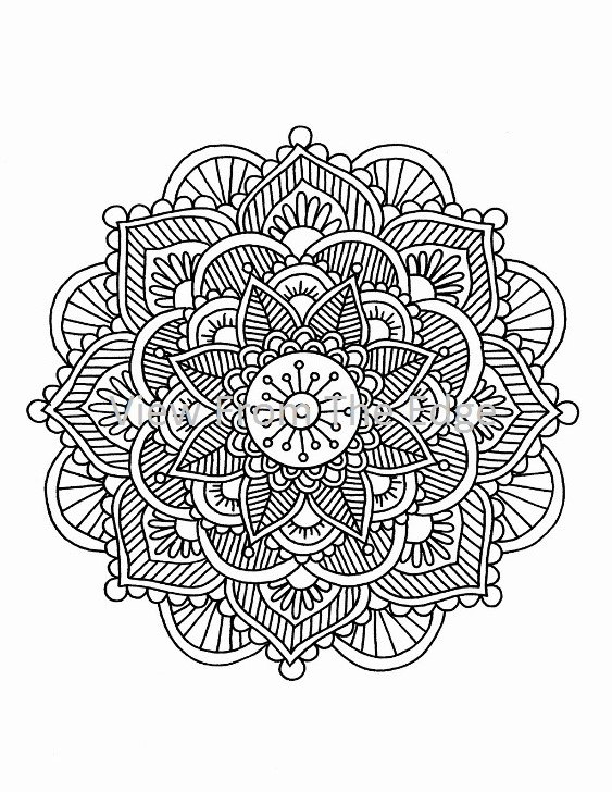 563x728 Trend Henna Coloring Pages 19 In Coloring Pages To Print