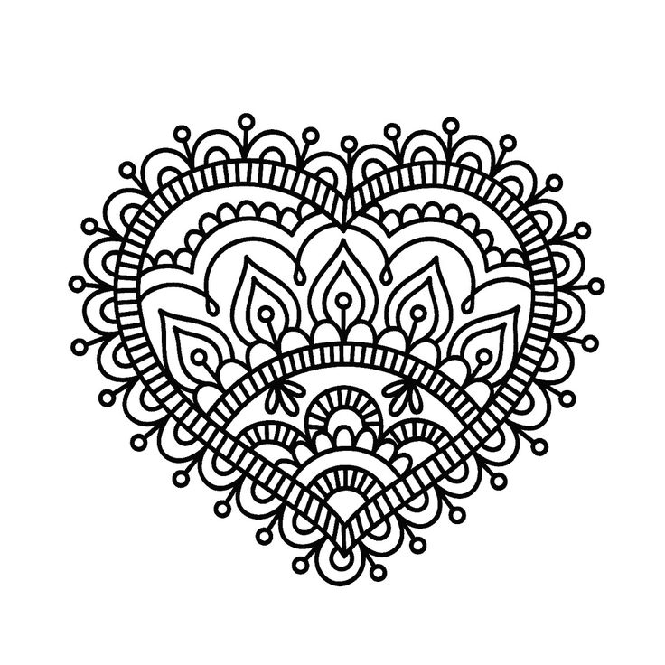 Henna Designs Drawing