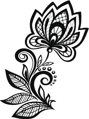 300x400 Henna Tattoo Design Ideas