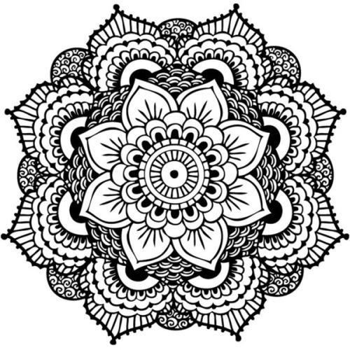 500x500 Henna Circle Design Tumblr
