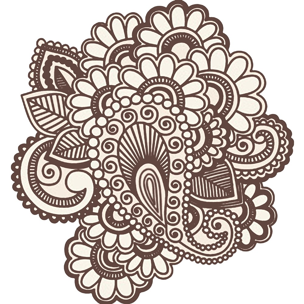 1000x1000 Henna Design By Drawngaming Redbubble