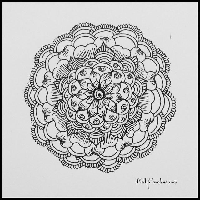 640x640 Henna Like Drawings
