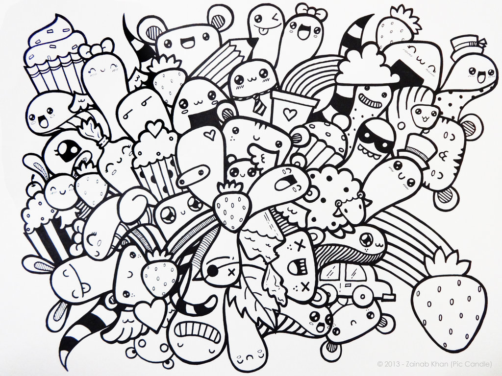 1024x768 Easy Doodle Art Designs Download Owl Drawings Tumblr Schizzo