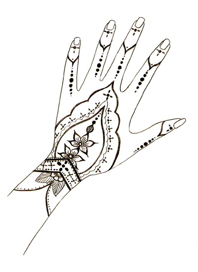 400x550 Henna Designs , Free Henna Design Templates