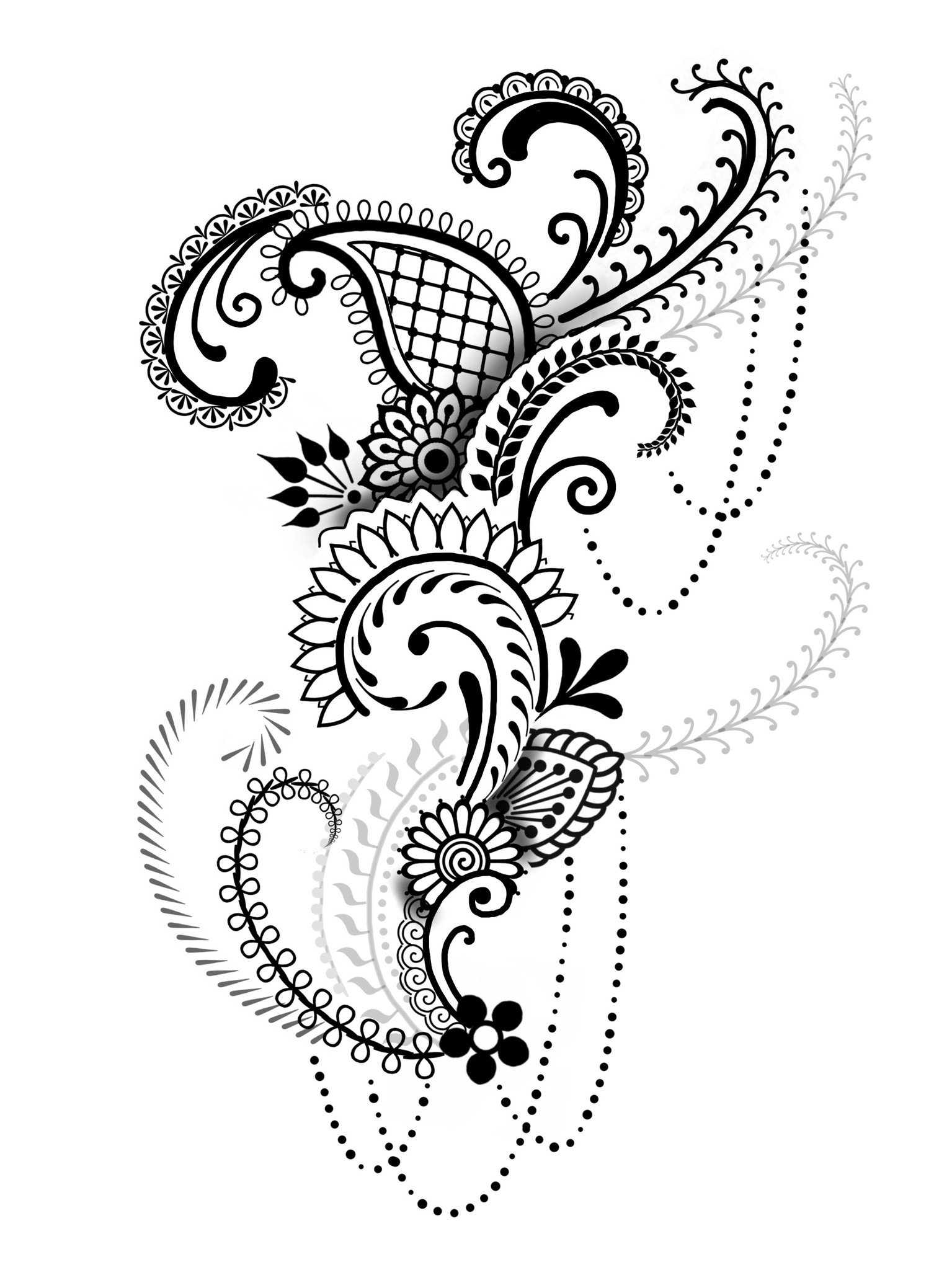 1535x2048 Brush Set Henna By Cory Ferguson
