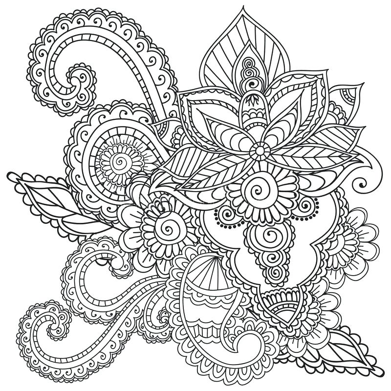 800x800 Henna Coloring Pages Download Coloring Pages For Adults Henna