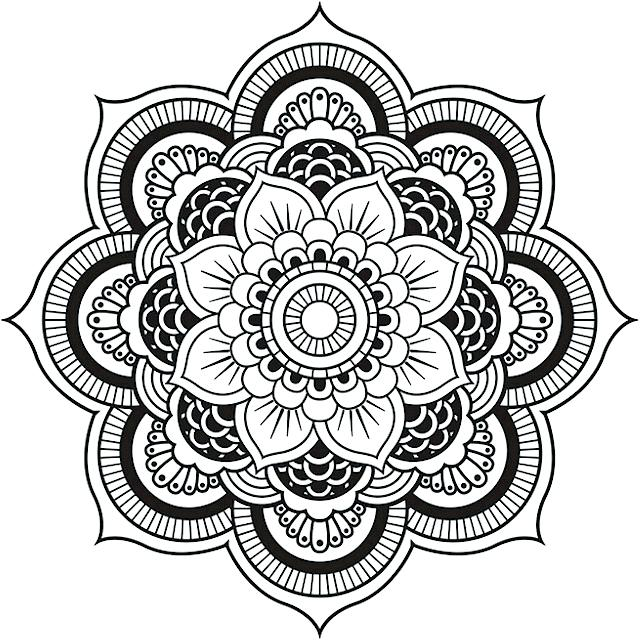 640x642 Top Rated Henna Coloring Pages Images Henna Coloring Pages
