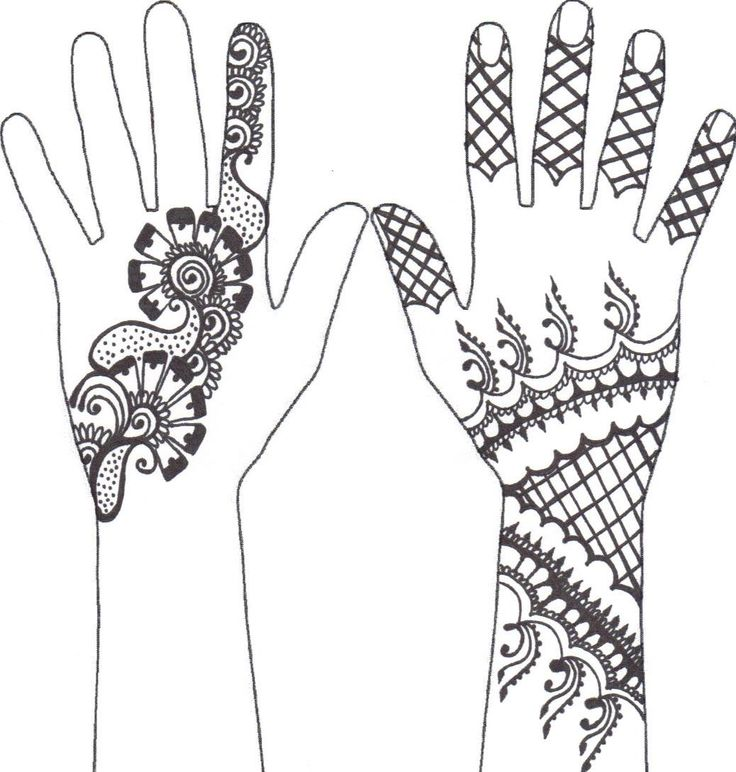 Henna Hand Drawing At Getdrawings Com Free For Personal Use Henna