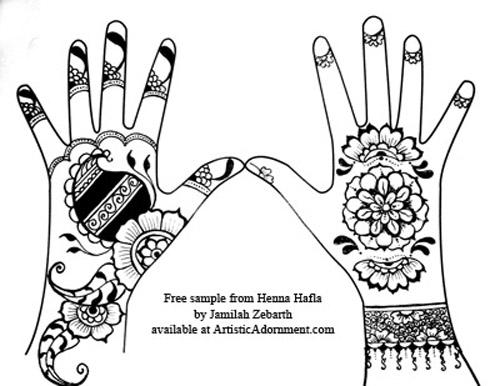500x386 Henna Hafla Design Book