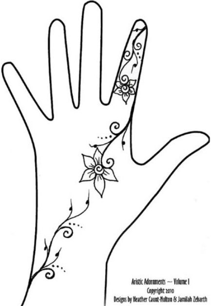 435x626 16 Best Henna Images On Simple Henna Designs, Henna