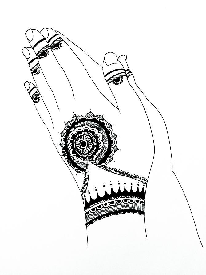 670x893 Henna Hands