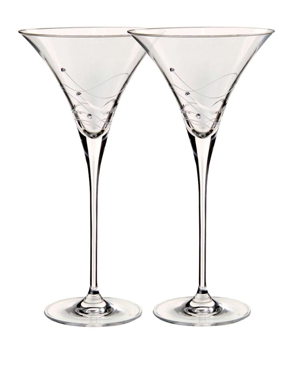 1000x1278 Dartington Glitz Martini Cocktail Glasses Buy Online Or Send As