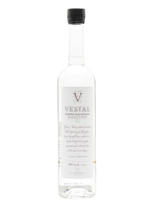 540x720 Vestal Kaszebe 2010 Vintage Vodka Buy From World's Best Drinks Shop