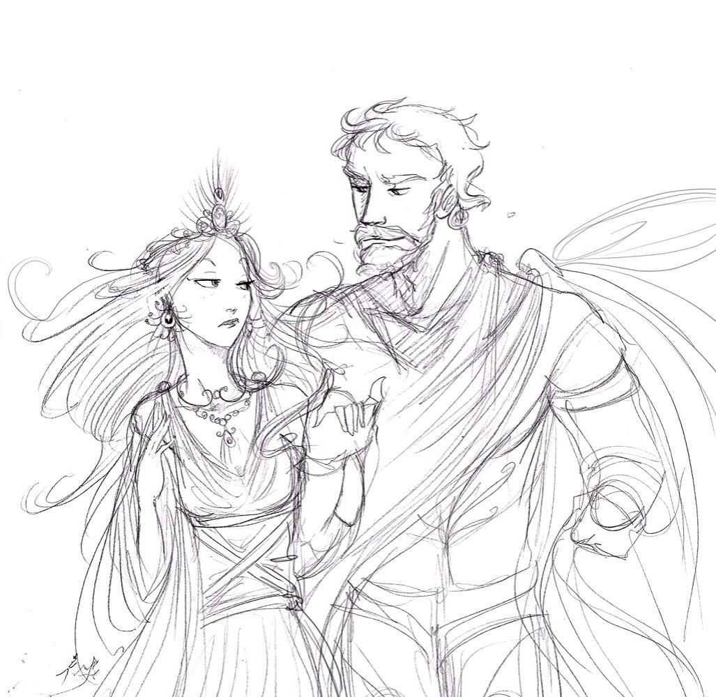 1027x1000 Zeus And Hera By Arbetta Greek Mythology Mythology