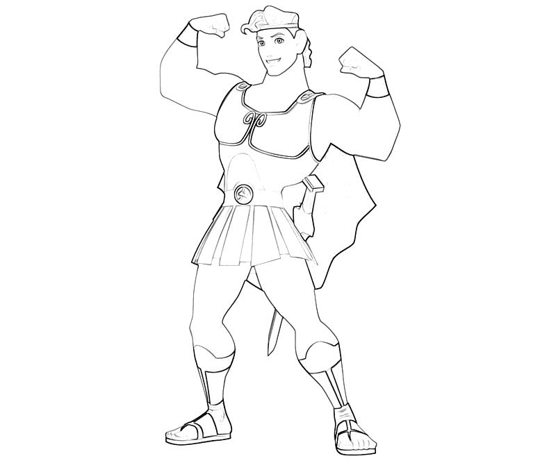 Hercules Drawing