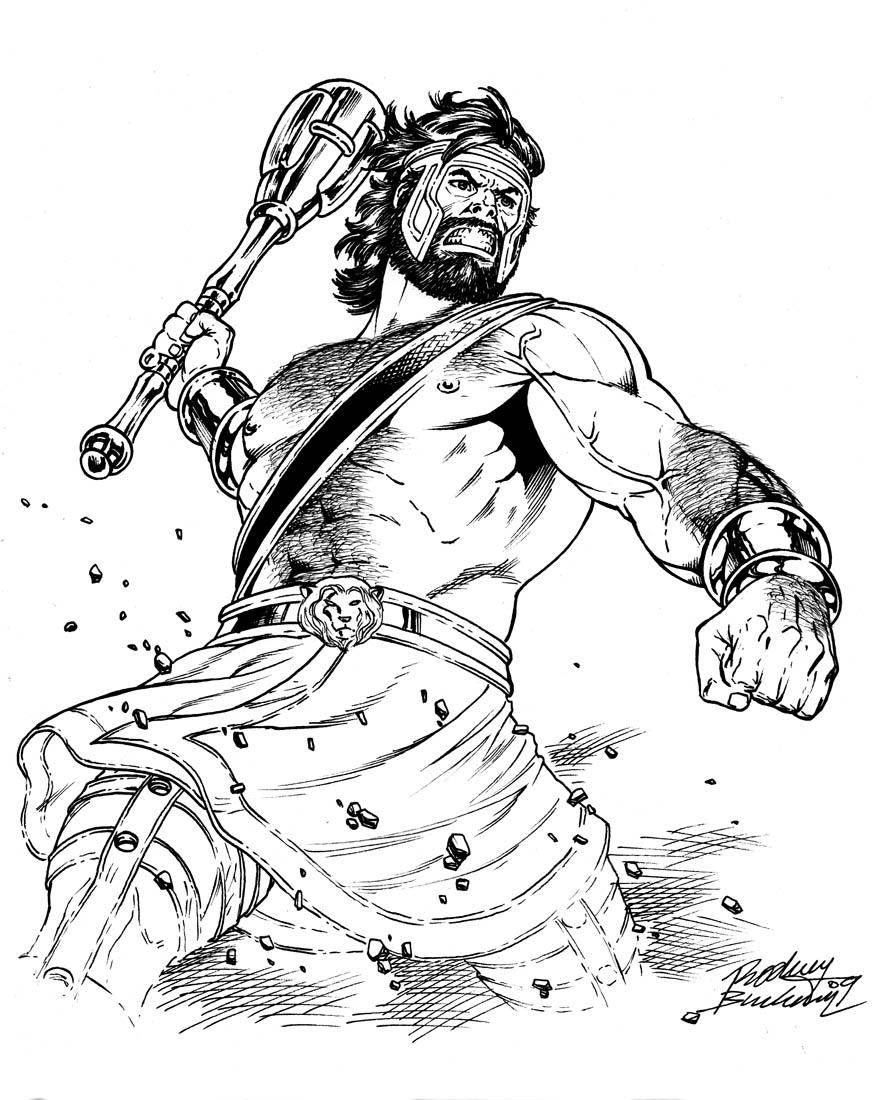 874x1100 Hercules By Buchemi Comics Mythology, Comic And Marvel