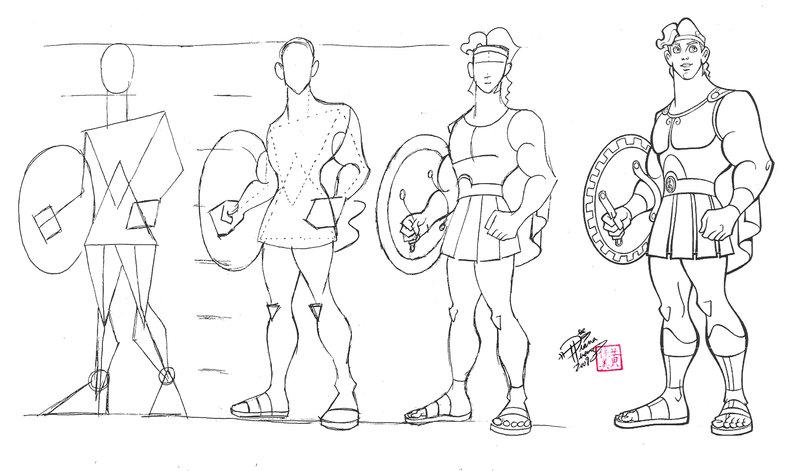 800x471 Draw Hercules By Diana Huang