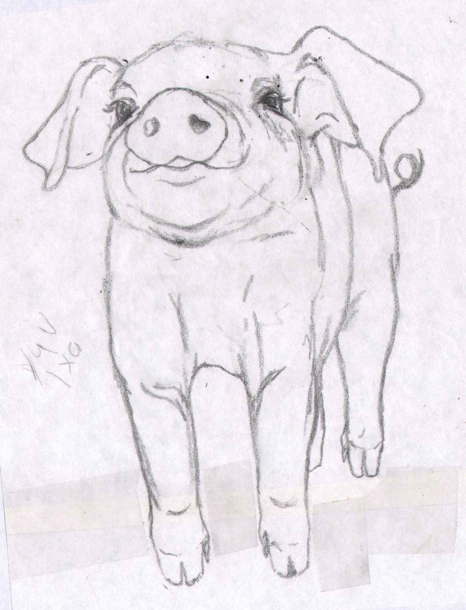 1528x2000 Painting Pigs Alison Fennell Art