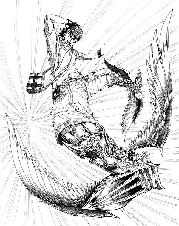 600x754 Hermes's Wings By Hungdk
