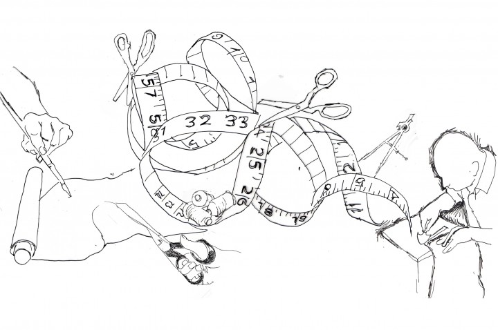 720x478 Hermes Drawing 03. Debbie Smyth Drawings