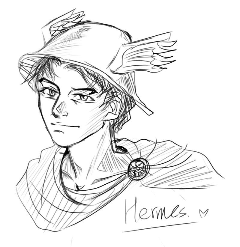 800x824 Hermes Sketch By Skylord1015 On Hermes, Hekate