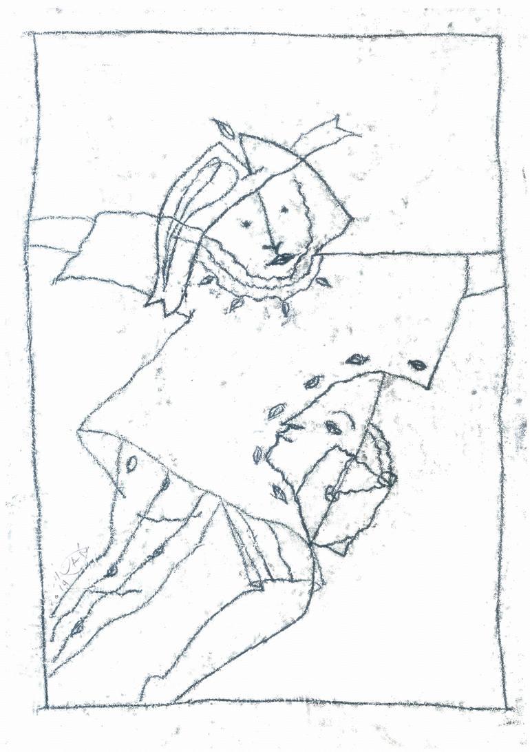 770x1092 Saatchi Art Hermes Drawing By Ivan Pchelintsev