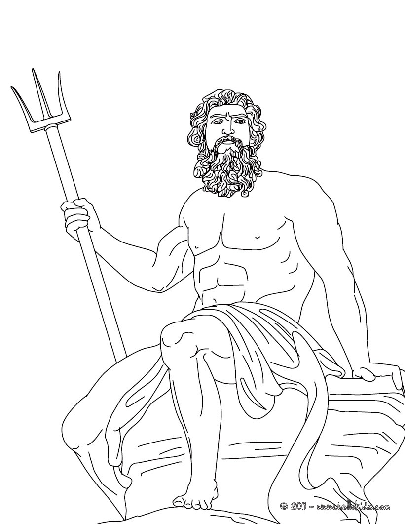 821x1061 God Hermes Coloring Pages