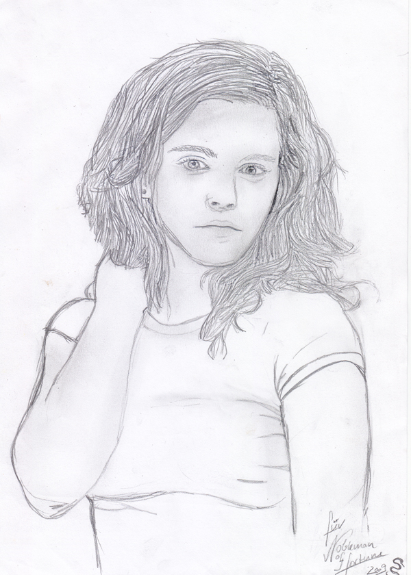 Hermione Granger Drawing at GetDrawings.com | Free for personal use ...