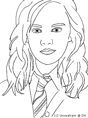 The best free Hermione drawing