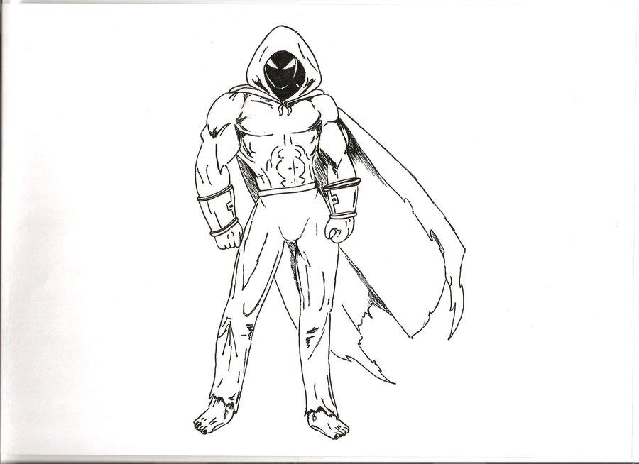900x654 Hooded Hero Sketch By Manser1990