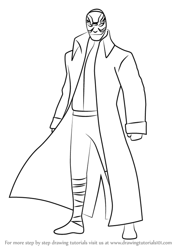 567x800 Learn How To Draw Yokai From Big Hero 6 (Big Hero 6) Step By Step
