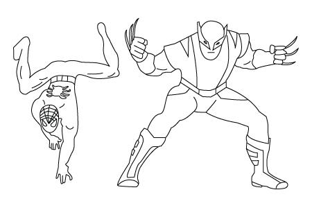 450x300 Super Hero Drawing Childrens Drawings