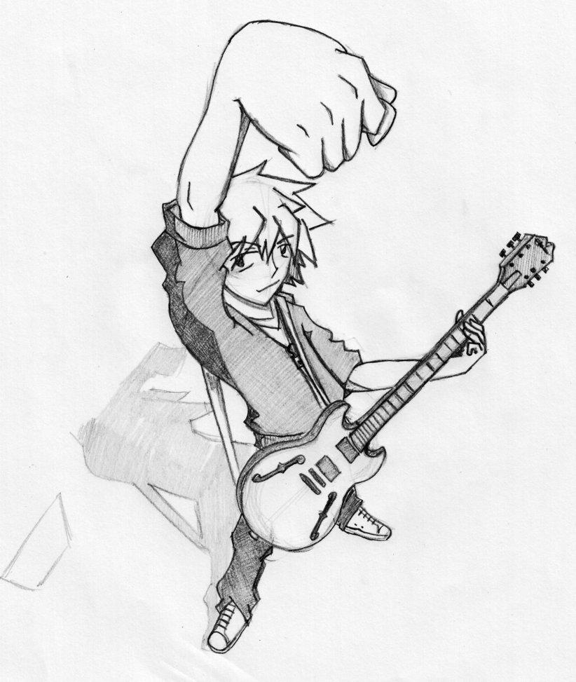 822x973 Guitar Hero By Stephen San