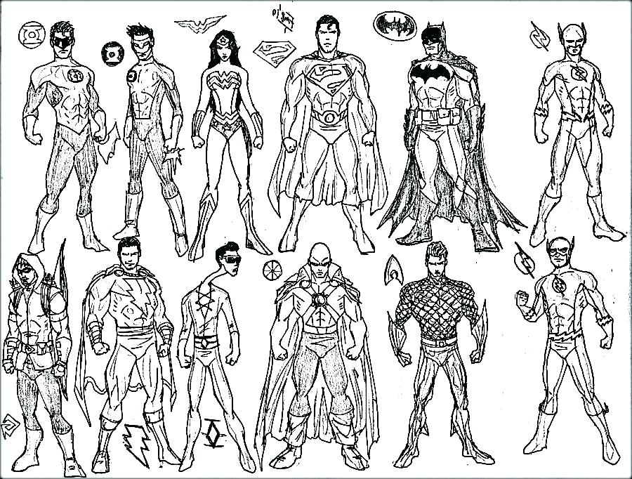 900x682 Stunning Marvel Super Heroes Coloring Pages Fee Superheroes