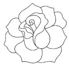 236x224 Flower Outline Tattoos Rose Outline Tattoo Stencil Line Art