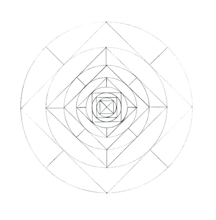 736x752 Hexagon Coloring Page Hexagon Coloring Page Mandala To Print